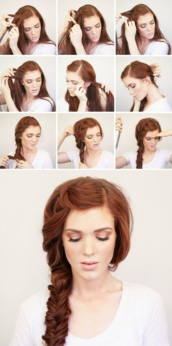 Summer Side Braid