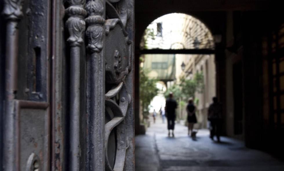 Pasaje de Sert, Barcelona.