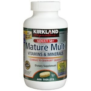 Kirkland Signature Mature Multi Vitamins Amp Minerals With