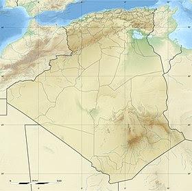 Voir la carte topographique d'Algérie