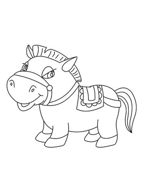 Mewarnai Gambar Kuda Poni Auto Electrical Wiring Diagram