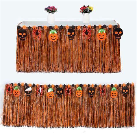 275x75cm Halloween Party Grass Skirt Halloween Props