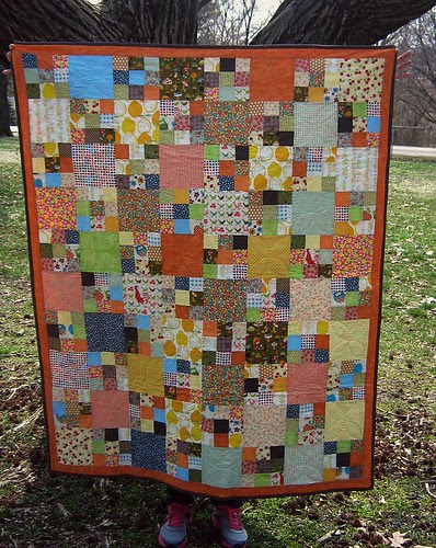 Summer Quilt Blanket by Fitri D. // Rumah Manis