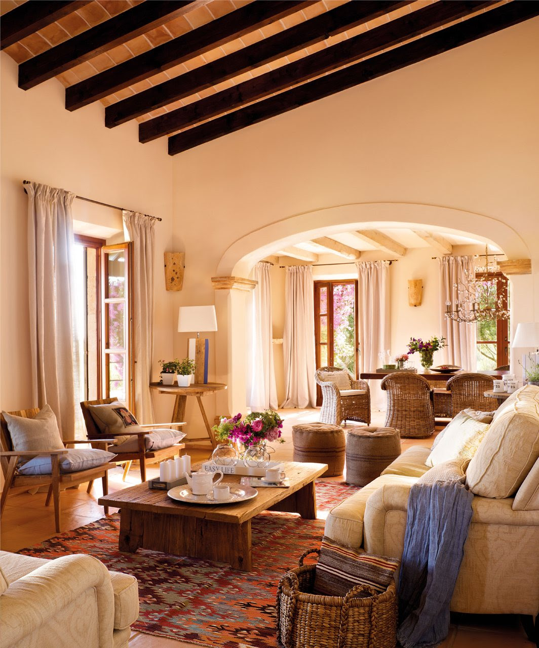 Décor Inspiration : An Apartment in Mallorca, Spain