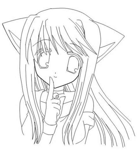 coloring pages nightcore anime printable kinderpagescom