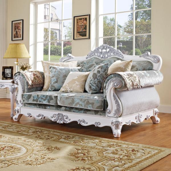luxury home furniture new classic wooden sofa design ...