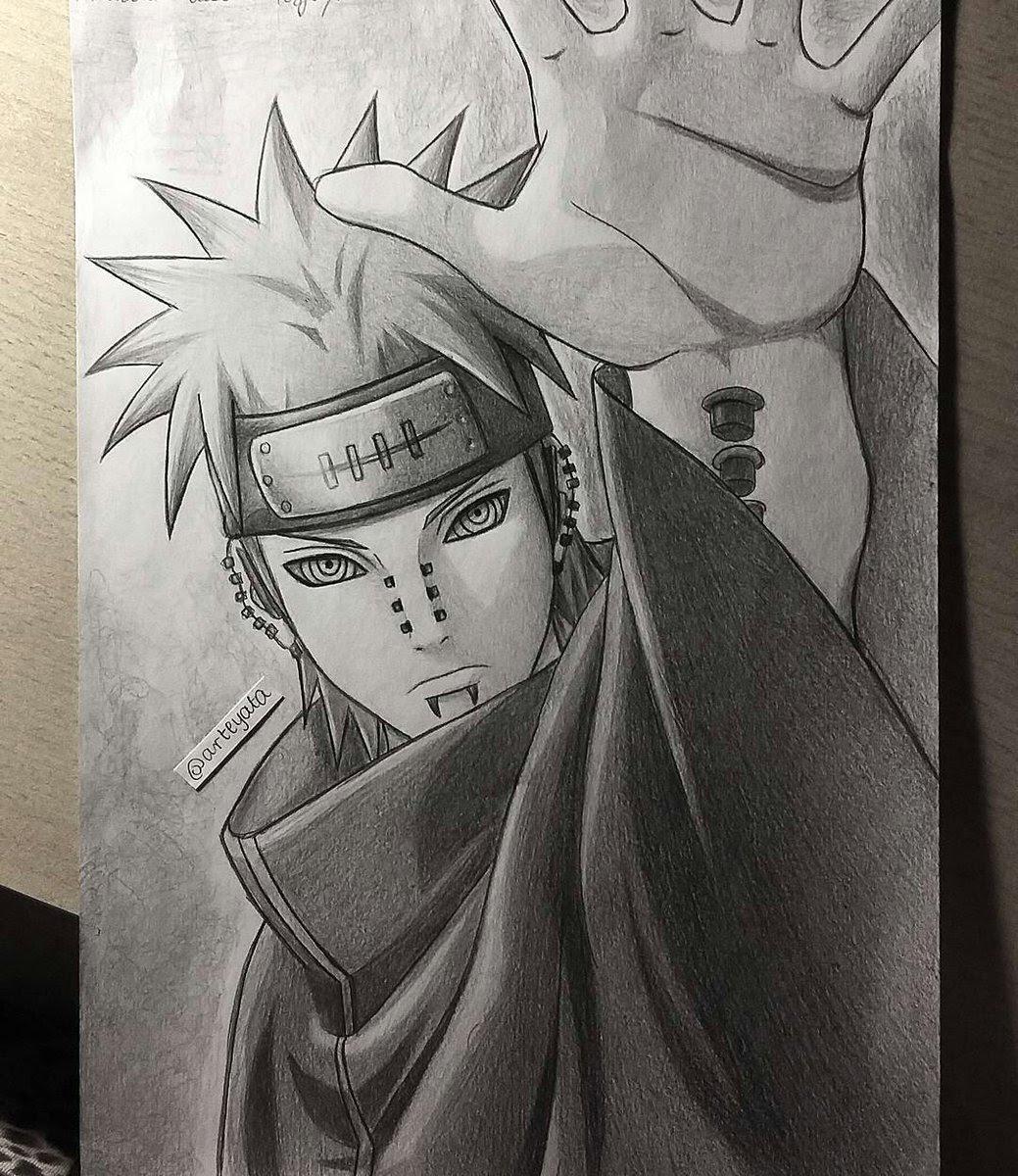 86+ Gambar Naruto Keren Dari Pensil Paling Bagus