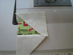 sewing second traingle