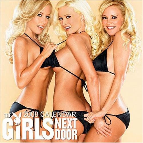 Girls Next Door, Playboy 2008 Poster Calendar