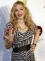 Madonna at the opening of the Hard Candy Fitness center, Mexico 22