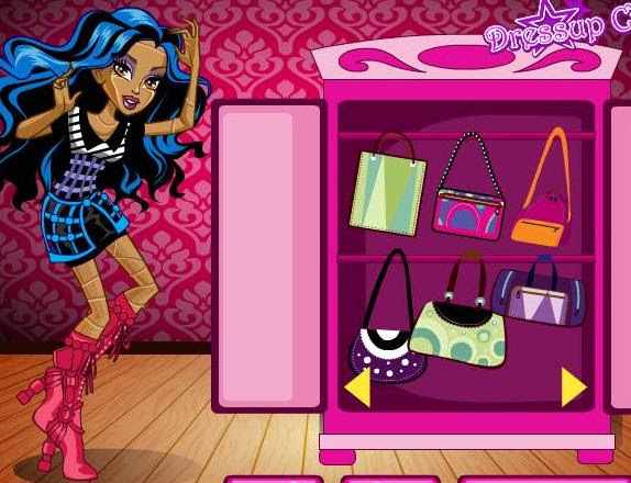 Fashion School Girl Dress Up Games School Style