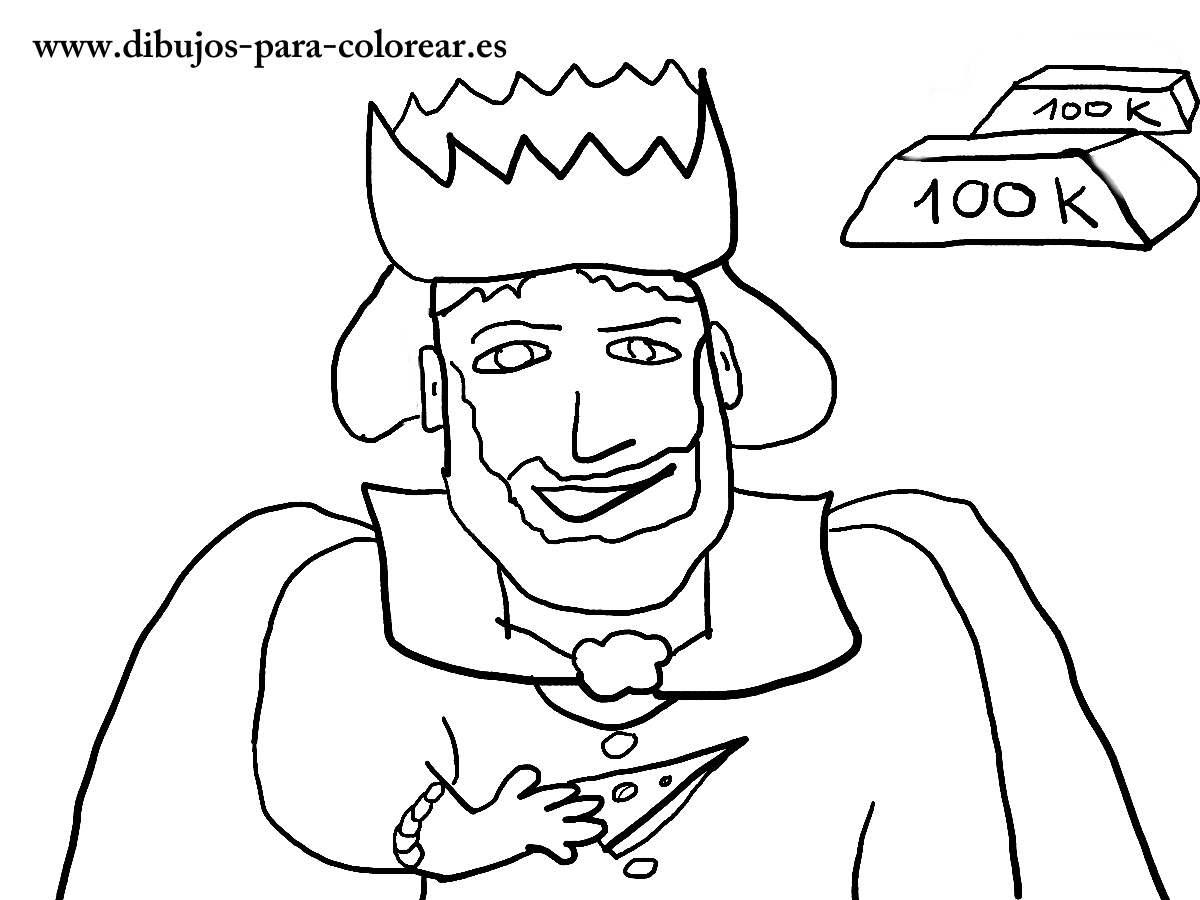 El Rey Midas Dibujos Para Colorear