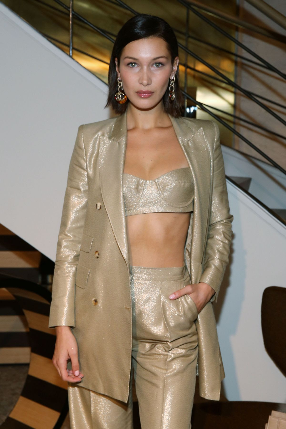 BELLA HADID at Max Mara Boutique Reopening at New York Fashion Week 09/08/2017