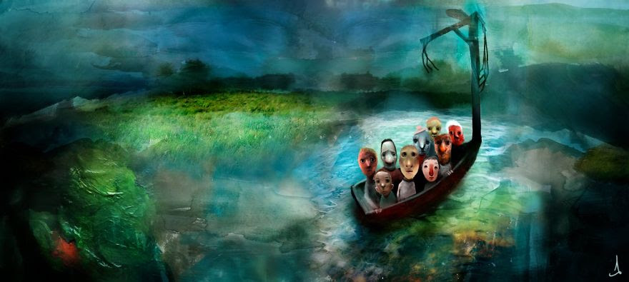 Alexander Jansson illustration fairytale5