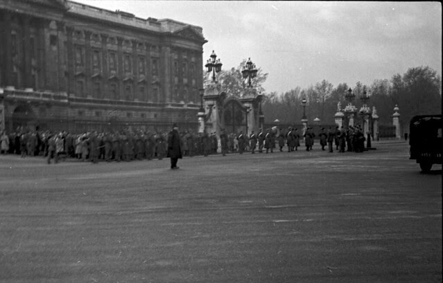 Guard in front of Palace