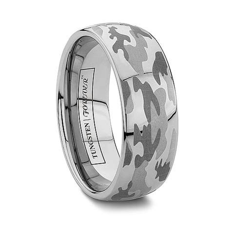 Camo Wedding Bands: Realtree Camo Rings vs. Laser Engraved