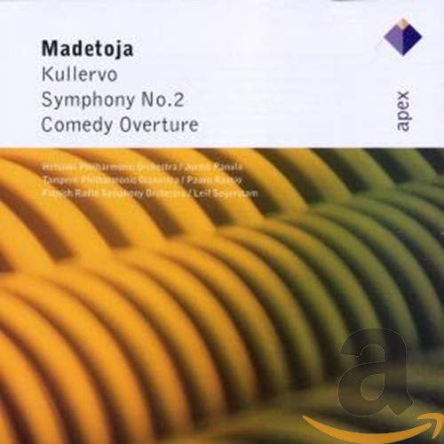 L.Madetoja, Orchestral Works, Helsinki Philharmonic, Tampere Philharmonic, Finnish Radio Symphony Orchestra, Jorma Panula, Paavo Rautio, Leif Segerstam (conductors), Apex/Warner