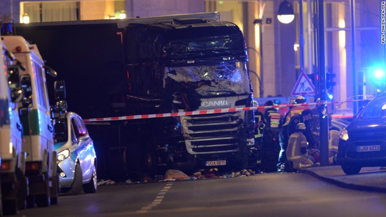 Berlin polisi: Natal truk pasar kecelakaan disengaja