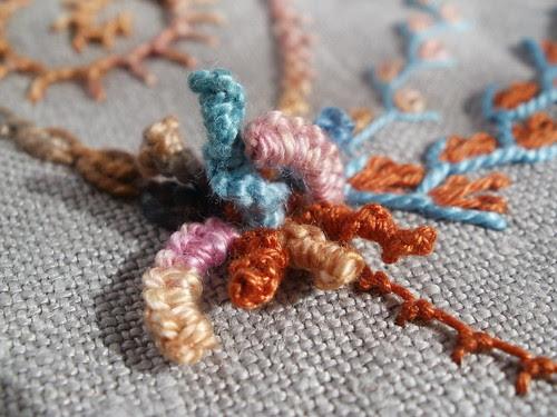 Drizzle stitch