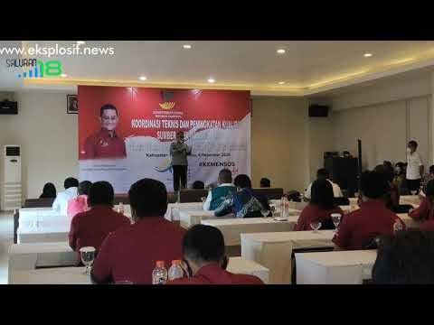 Menteri Sosial RI Kunker ke Tanah Bumbu
