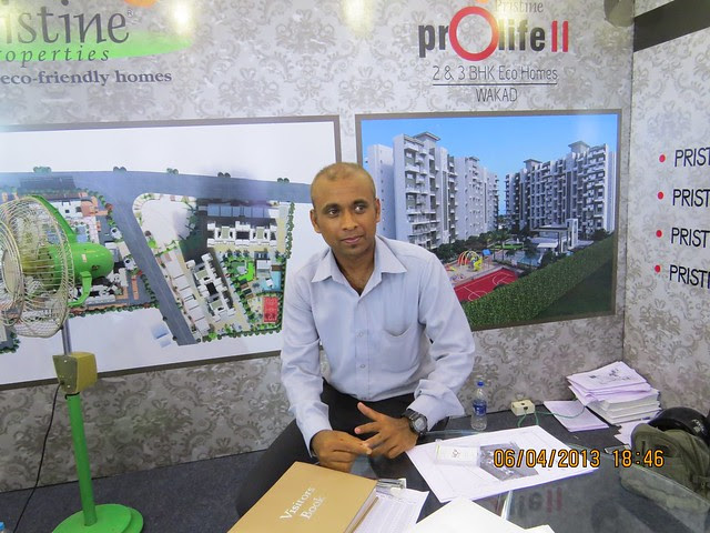 Pristine Prolife 2 Wakad Pune - Maharashtra Times Pune Property Show April 2013
