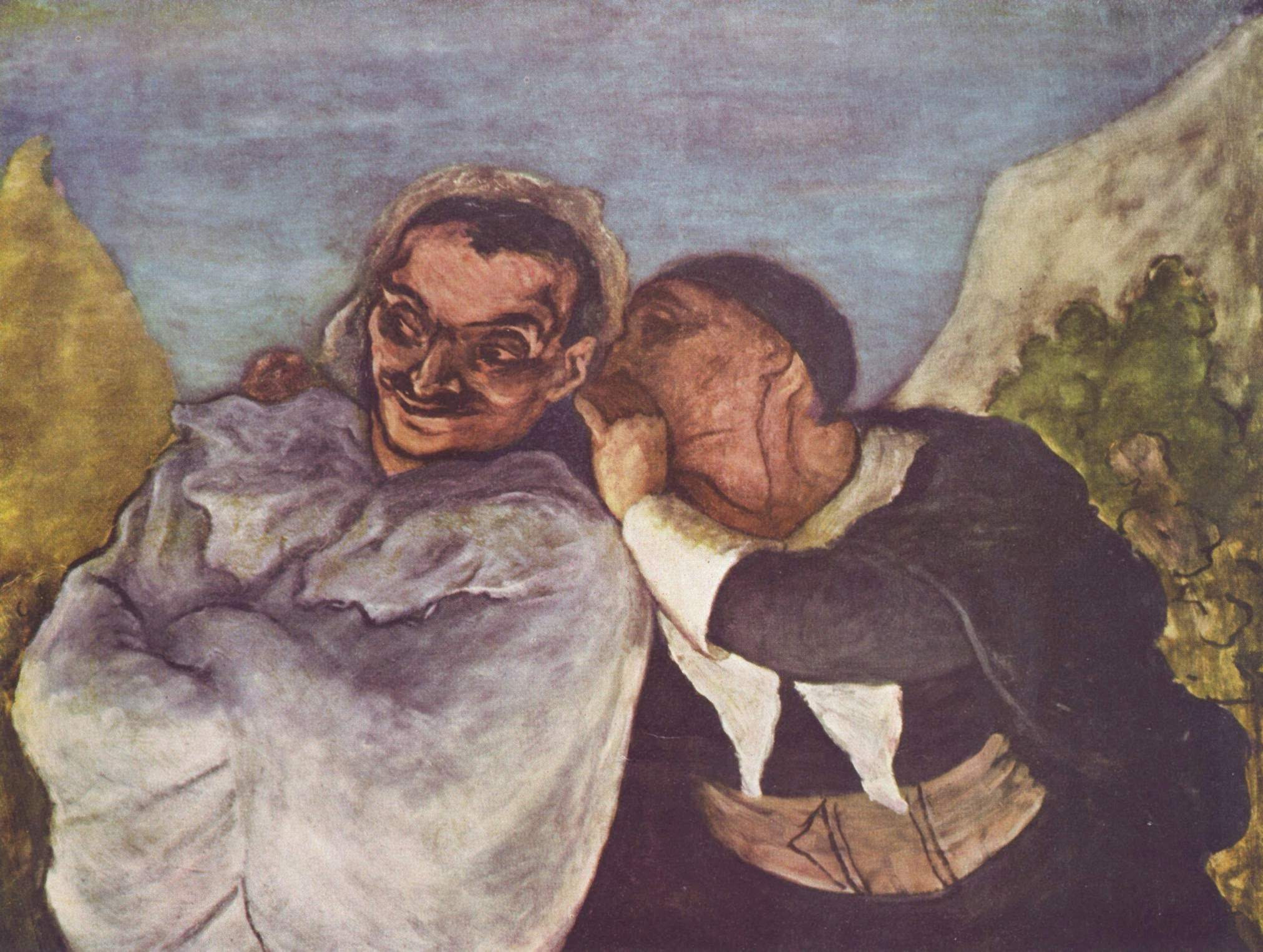 Crispin & Scapin By Honore Daumier