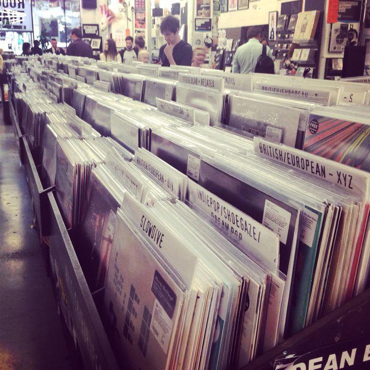 Rough Trade records, Bricklane, Shoreditch, London
