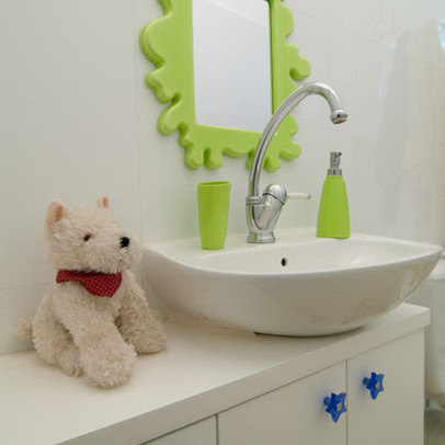 Bathroom Mirror Frames on Kids Bath Design Ideas  Pictures  Remodel And Decor