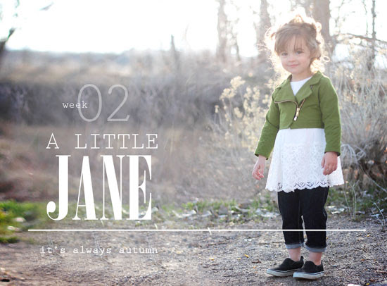 super cute handmade kids clothes inspired by Jane Austen
