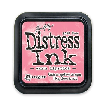 Tim Holtz Distress Ink Pad WORN LIPSTICK Ranger TIM21513