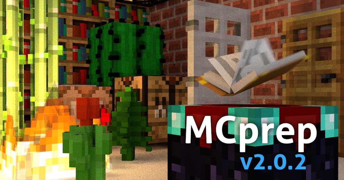 Minecraft Blender Addon - Omong s