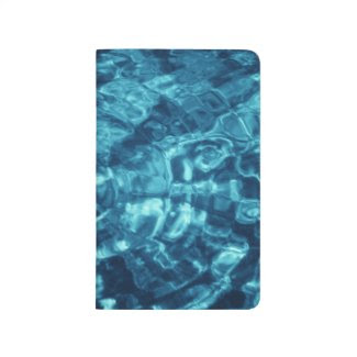 Blue Abstract Journals