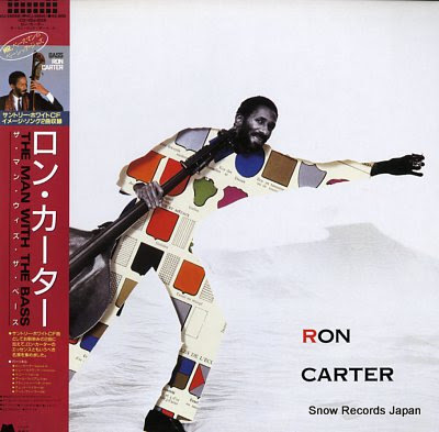 CARTER, RON man with the bass, the