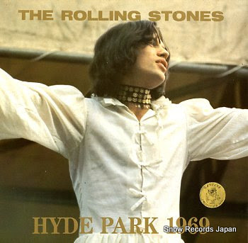 ROLLING STONES, THE hyde park 1969