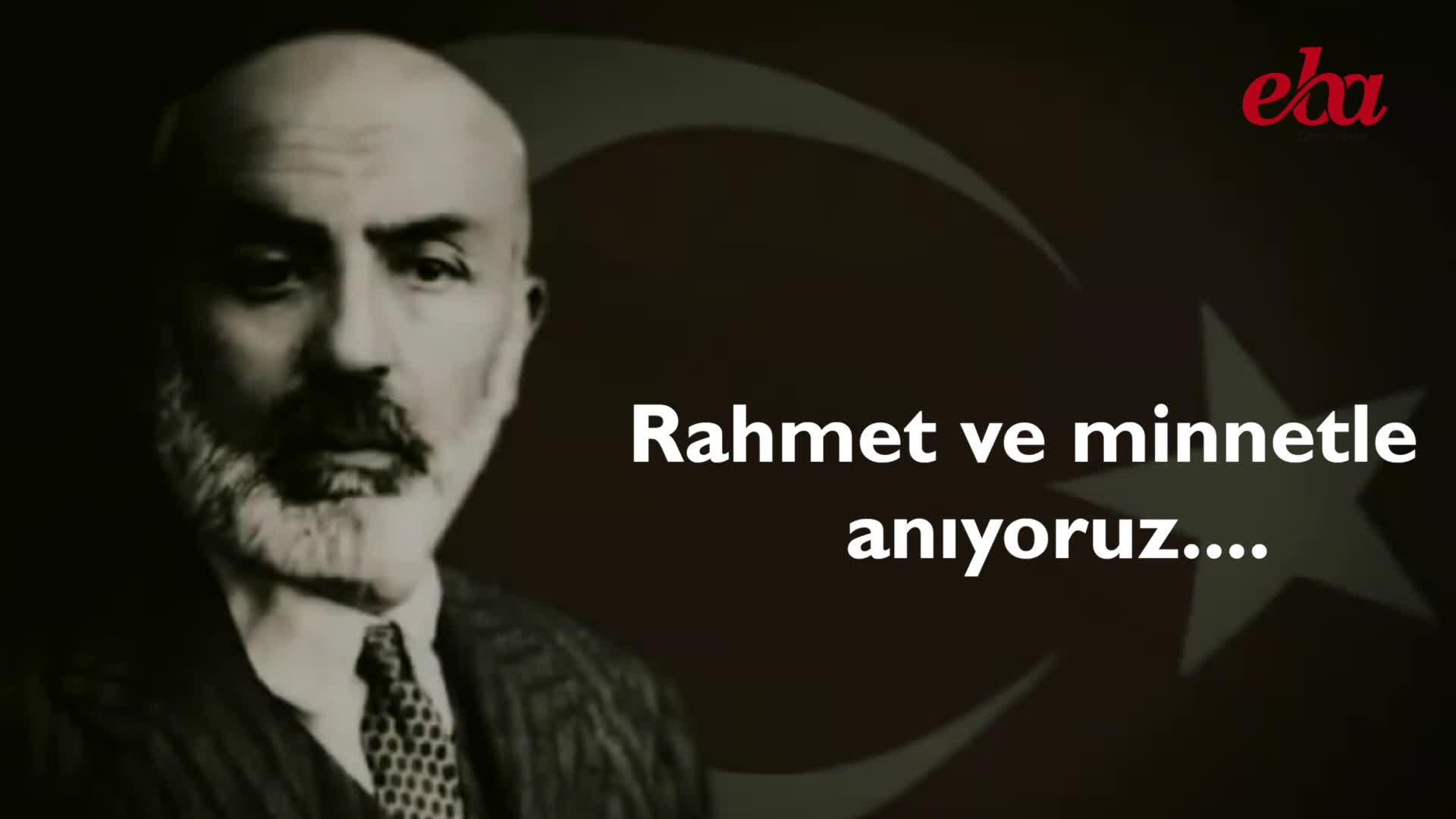 Mehmet Akif Ersoy Izle Video Eğitim Bilişim Ağı