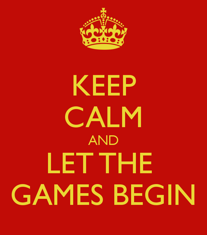 Keep Calm And Let The Games Begin 24 Clean Eats Fast Feets
