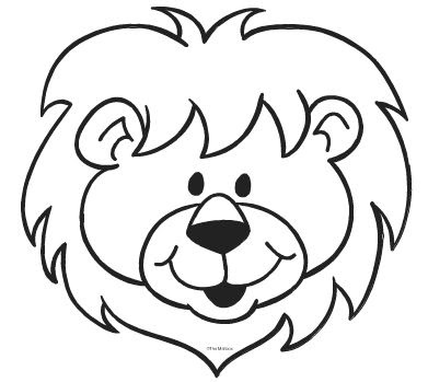 Black And White Clipart Lion Free Download Best Black And White