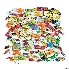 Tropical Toy & Candy Assortment