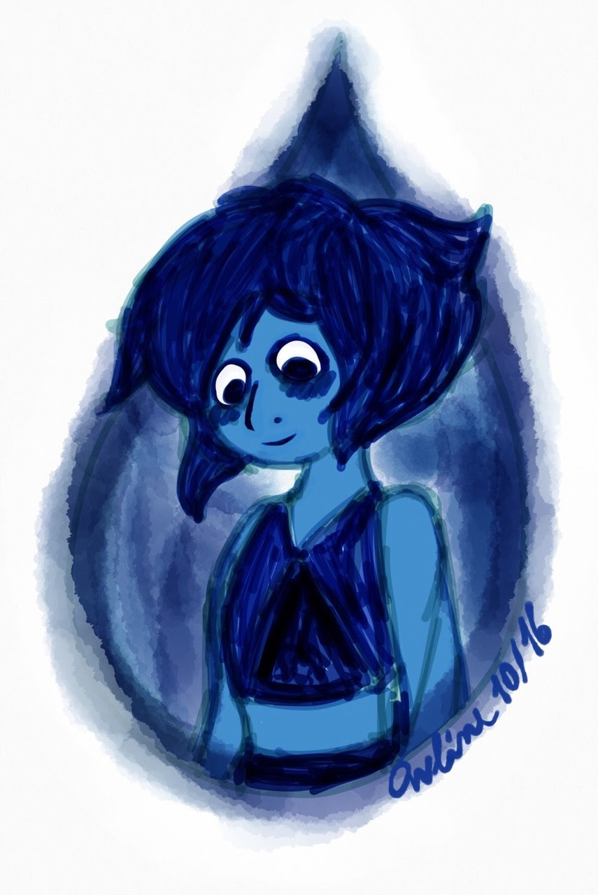 I want to see Lapis smile more often.