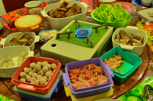 Dishes for steamboat