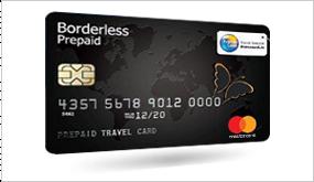 Borderless prepaid forex card login