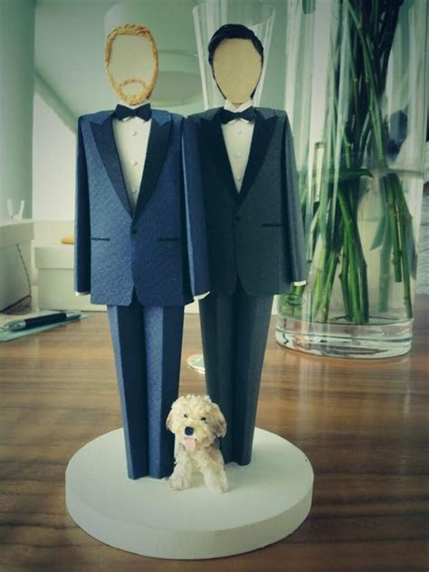 Pin by EnGAYged Weddings on Gay Wedding Cake Toppers