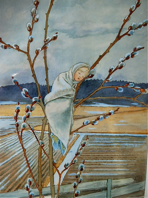 Elsa Beskow, sleep pussy willow... its still winter