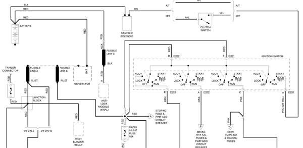 1998 Gmc Jimmy Ignition Wiring Diagram