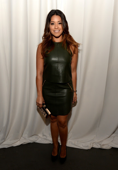 "Gina Rodriguez - NUVOtv's Spring Launch Premiere Party Featuring Talent From ""The Collective, Powered By Vevo"" And ""Nu Point Of View"""