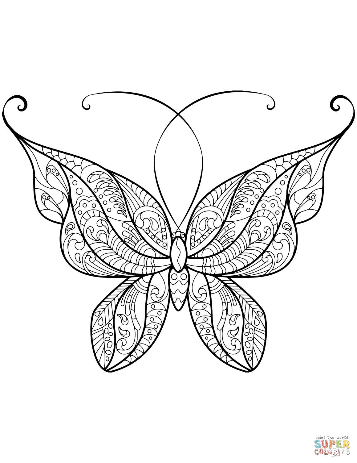 960 Top Baby Butterfly Coloring Pages Pictures