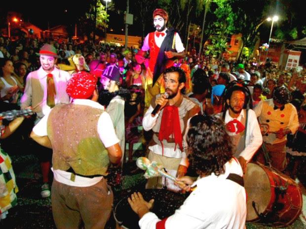 Grupo Boneco de Pano em Santana São José dos Campos (Foto: Antonio Basílio/PMSJC)