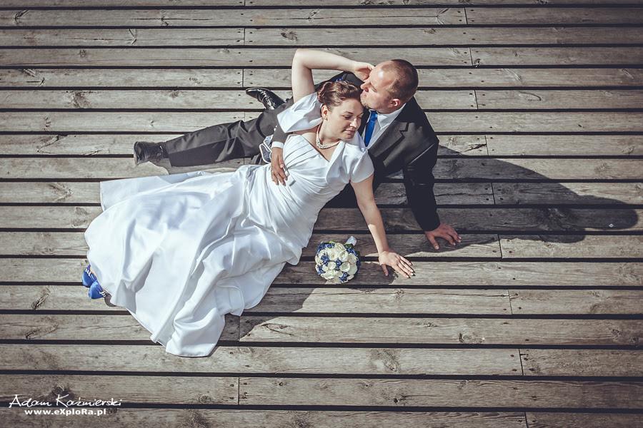 Ewa i Tomasz - kilka klatek z pleneru ślubnego...