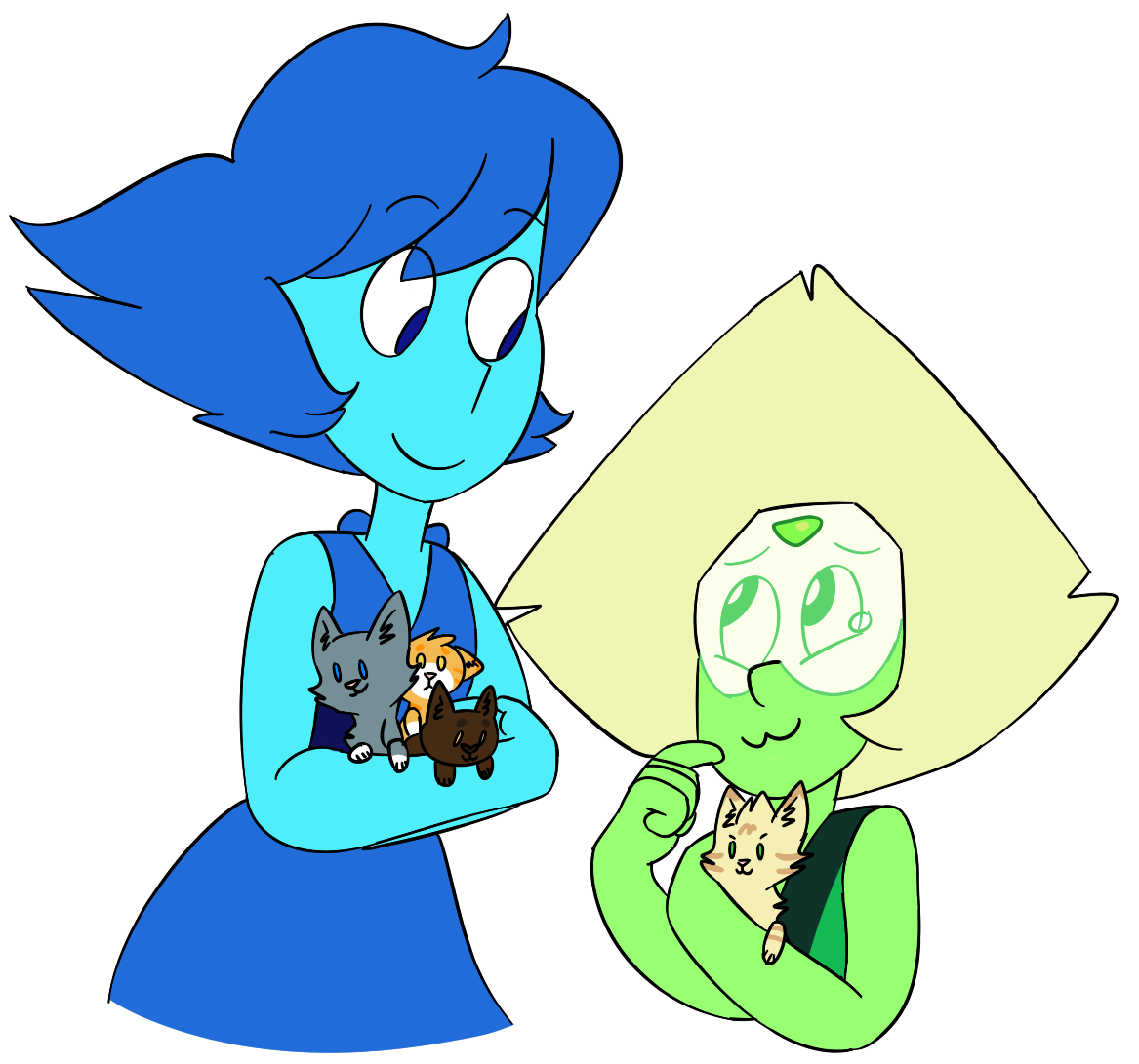 Lapidot Week 2 Day 4 - Free Day (Cats)   Peri is crying because they do the :3   @lapidot-week