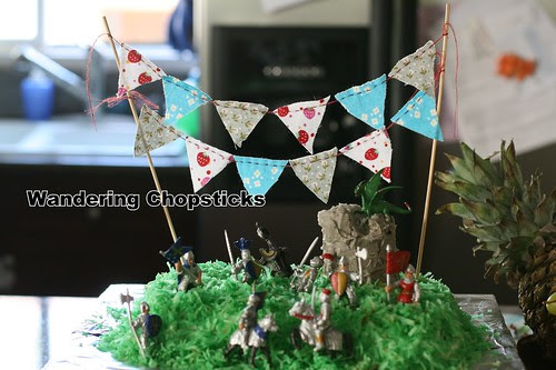 How to Sew Cake Bunting 1